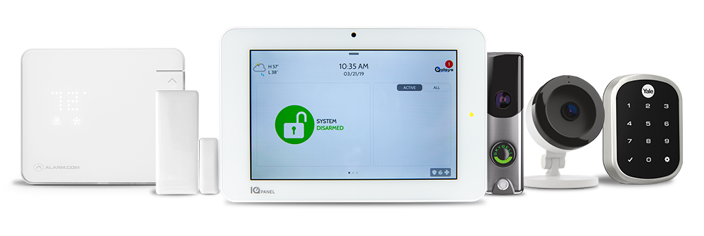 Smart home automation products with Granite Peak Alarm
