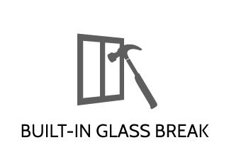 Glass Break Detection for Home Security with Granite Peak Alarm