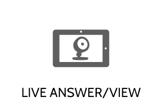 Live Answer Cameras for Home Security with Granite Peak Alarm