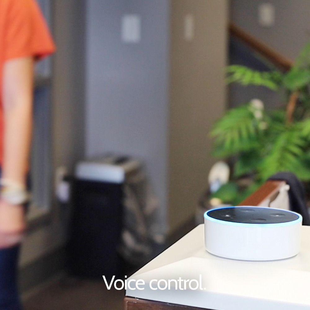 Use voice control for your home security with Granite Peak Alarm